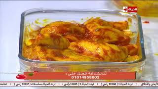 المطبخ مع الشيف اسماء مسلم | طريقة عمل الدجاج المشوي / الأرز المبهر / ليزي كيك
