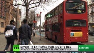 White Flight: Diversity extremes push Londoners
