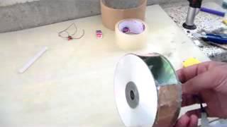 كيفية صنع قاذف للهواء بادوات بسيطة  ..  How to make an air blower