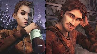Clem Interrogates Luke and Jane About Their Wild Adventure -All Choices- The Walking Dead
