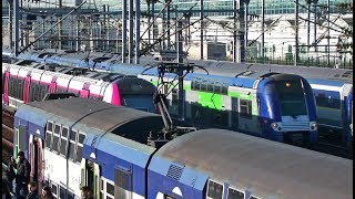 X-ing ! Crossing Trains in France