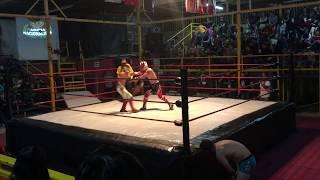 Koto Hiro & Guy Cool (CoolHiros) vs 420 Bros : Lucha Libre Internacional 2/10/2018