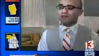 Angel Rivera Channel 13 Orlando interview