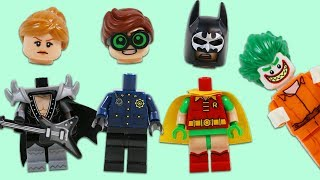 Lego Batman & Robin Mix and Match Heads from Jokers Trap!