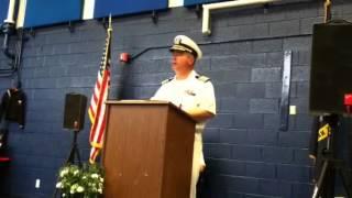 Captain Moroni retires?