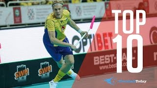 TOP 10 FLOORBALL PLAYERS IN THE WORLD 2016