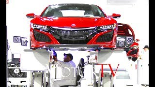 CAR FACTORY: 2017 ACURA/HONDA NSX PRODUCTION & DRIVING SCENES lPerformance Manufacturing Center (US)