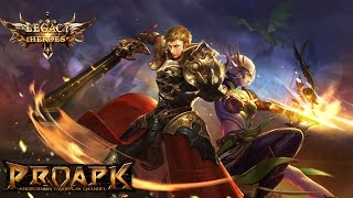 Legacy of Heroes - EternityWings Android Gameplay (Open World MMORPG)