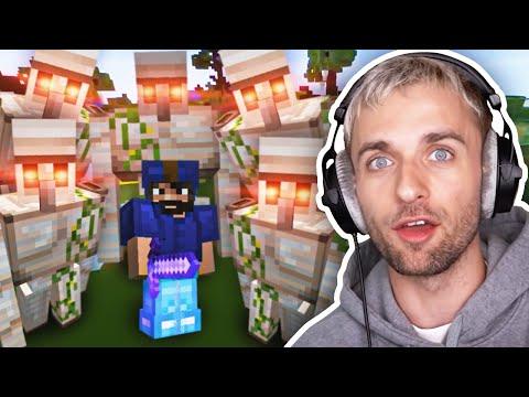 IL CRÉE UNE ARMÉE DE GOLEMS 🤯 Minecraft Bed Wars