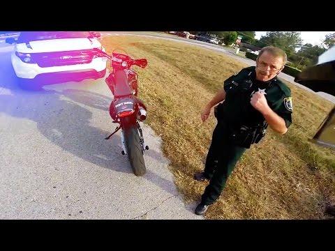 Cops Vs Bikers 2016 Cool Cops & Angry Cops Ep. 18