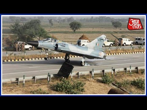 watch 8 IAF Fighter Jets To Land On Unnao's Agra-Lucknow Expressway