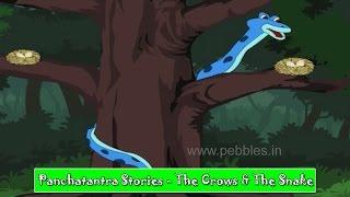 Kagdo Ane Saap | Crow & Snakes | Panchatantra Gujarati Stories | Kids Stories | Children Stories HD