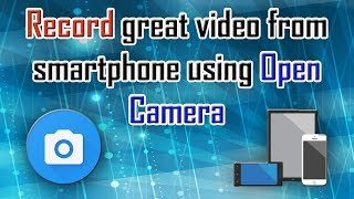 Open camera app for video recording on mobile phone? [Hindi]