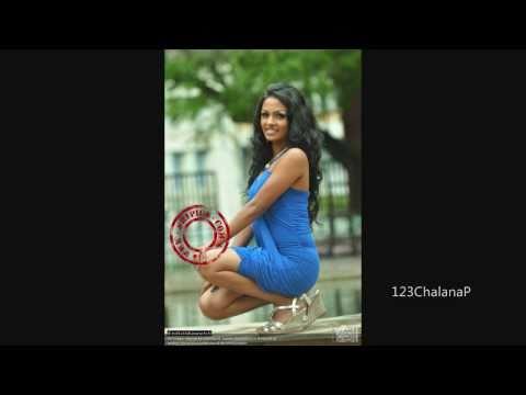 Sexy Shalani Tharaka In Blue