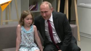 Vladimir Putin Visits Russian Cultural Centre in Paris