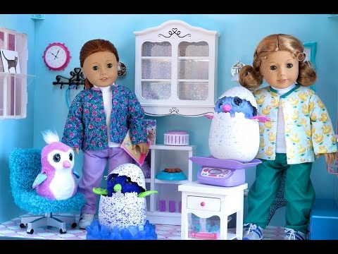 American Girl Doll Hatchimals