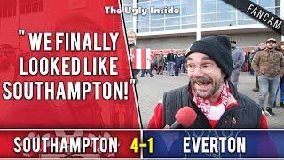 We finally looked like Southampton! | Southampton 4-1 Everton | The Ugly Inside