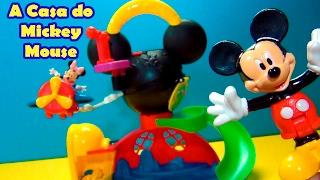 Casa do Mickey Mouse igual do Desenho #MickeyMouseClubHouse #DisneyJR