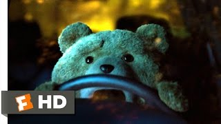 Ted 2 (10/10) Movie CLIP - Ted Wrecks the Car (2015) HD