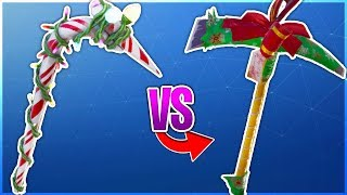 CANDY AXE VS YOU SHOULDN'T HAVE (Which is Better?) Candy Axe RETURNING in Fortnite Battle Royale!