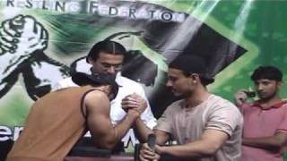 Pakistan Arm Wrestling Federation Freedom Fighters Arm Mania 1 Juniors - 70 kg Part 3
