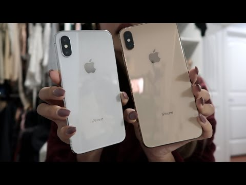 GOLD iPHONE XS MAX UNBOXING