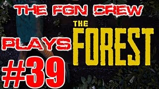 The FGN Crew Plays: The Forest #39 - Exploring the Crater (PC)