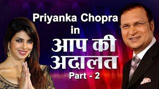 Priyanka Chopra In Aap Ki Adalat (Part 2)