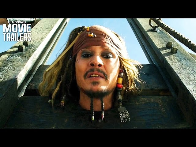 Pirates of the Caribbean 5 | New Clips for Johnny Depp Movie