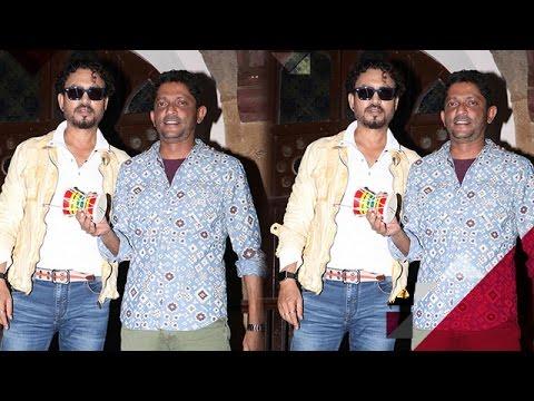 Irrfan Khan Promotes 'Madaari' At A College In Mumbai | Bollywood News