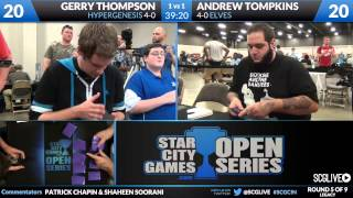 SCGCIN - Leg - Rd 5 - Gerry Thompson vs Andrew Tompkins