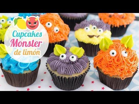 Xxx Mp4 Cupcakes Monster De Limón Especial Halloween Quiero Cupcakes 3gp Sex