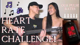 SINGING HEART RATE CHALLENGE | She Makes MY Pulse Go Up!