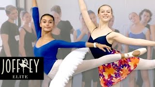 Ballet Auditions- Day 2 | JOFFREY ELITE  Ep 2