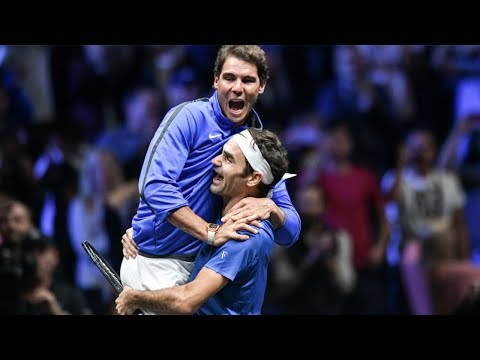 Roger Federer & Rafael Nadal Pure Friendship Beautiful & Funny Moments 2017