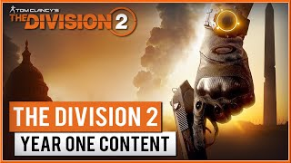 THE DIVISION 2 - FREE Year One Content Trailer 2019 (PC, PS4 & XB1) HD