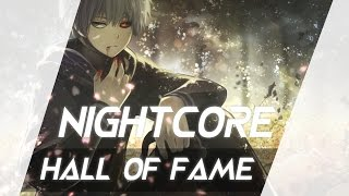 【NIGHTCORE】HALL OF FAME - THE SCRIPT (FEAT. WILL.I.AM)