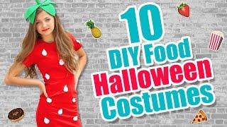 10 Food-Inspired DIY Halloween Costume Ideas   Kamri Noel