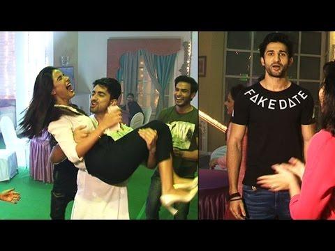 Xxx Mp4 Sidhant Gupta Zain Imam Jasmin S Crazy FUN And DANCE During Tashan E Ishq Wrap Up Party 3gp Sex