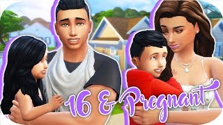 16 & PREGNANT👶🏻🍼 // THE SIMS 4 | Part 32 - Friends & Family Sunday!