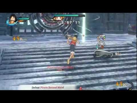 One Piece : Pirate Warriors Episode 4 Part 1 Walkthrough Ps3 Walkthrough Part 1
