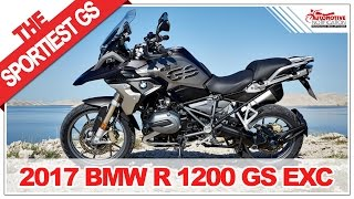 LOOKS SPORTY!! 2017 BMW R 1200 GS Exclusive Price Specification Review