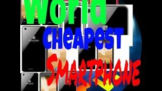 Docoss X1 World cheapest Smartphone ever.