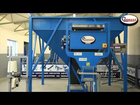 Wagoworkownica elektroniczna WE 50 V materiały sypkie ekogroszek