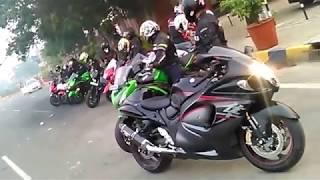 hayabuza wheeli stunt