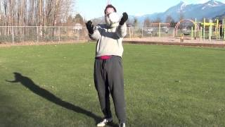 How To Control A Football On Your Chest - How To Control A Soccer Ball With Your Chest