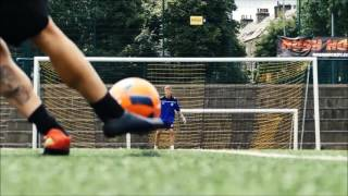 Football In Slow Motion | Knuckleballs + Saves | SheffShooters
