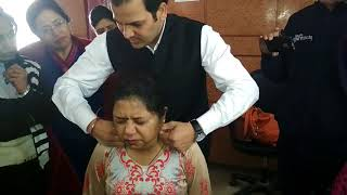 Neurotherapy Treatment of Frozen Shoulder & Cervical Spondylitis, very  Quick result by Neurotherapy