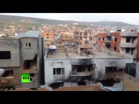 150 Kurdish people burned alive by Erdogan's regime in Cizre, southeast Turkey