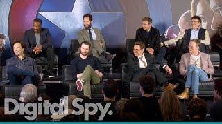 Captain America: Civil War - European Press Conference in Full